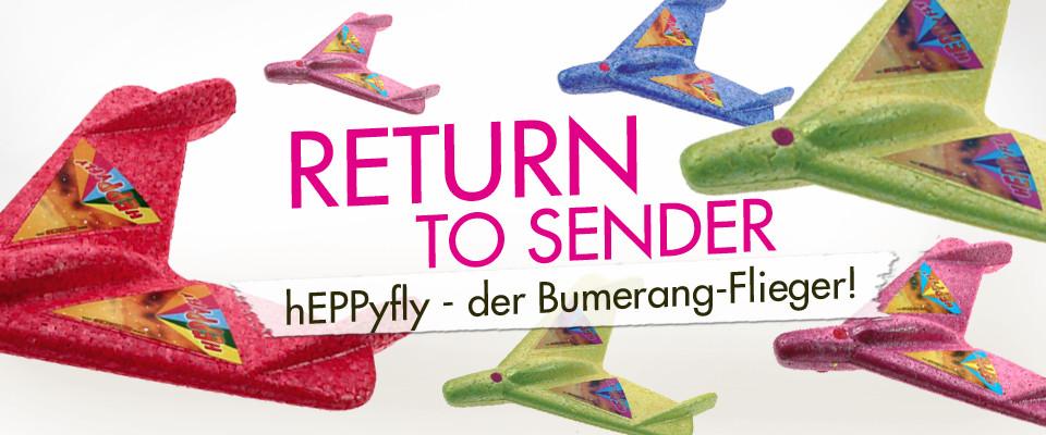 heppyfly aero bumerang